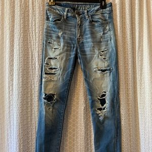 American Eagle ankle Jeans💙